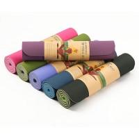 Tpe Yoga Mat 6mm / Matras Gymnastic Senam Yoga Tpe Import (+Bonus Tas)