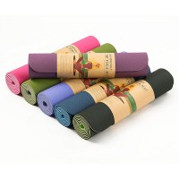 TPE YOGA MAT 8mm / Matras Gymnastic Senam Yoga Tpe Import (+Bonus Tas)