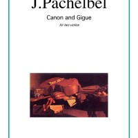 Buku Biola Canon in D and Gigue by Johann Pachelbel