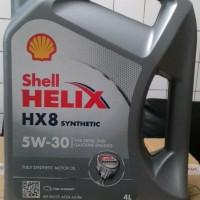 Oli Shell HX8 SAE 5W/30 Galon 4 liter