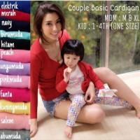 Harga cardigan couple ibu dan anak mom n kid | WIKIPRICE INDONESIA