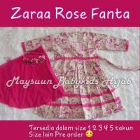 Set Gamis Jilbab New Zaraa Series Dress Hijab Maysuun Baby (Pre Order)
