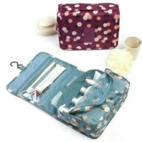 Tas Perlengkapan Mandi / Korean Travel Toiletries Bag Organizer