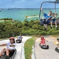 Tiket Luge and Skyride Singapore, sentosa singapura ticket