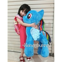 Boneka kuda pony (my little pony)rainbow dash