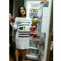 harga Midi Dress Maternity Baju Hamil Unik BP1 Putih Juni Online Shop Tokopedia.com