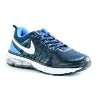 Sepatu Running Nike Flywire Air Max Navy Biru