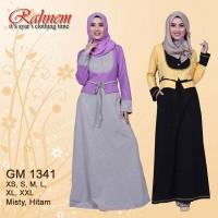 Gamis Muslim Rahnem GM 1321 Bahan Katun Combed