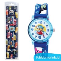 Linkgraphix KT24 Koi Size SS Jam Tangan Anak Link Kids Watch BIRU Ikan
