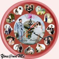 Jam Dinding Foto ( gratis desain/edit sesuai selera anda ) DF9