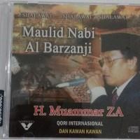 "CD Maulid Nabi Al Barzanji ""H Muaqmmar Za"""