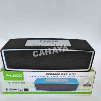 SPEAKER MP3 MINI WIRELESS FLECO Non Lampu (F-509)