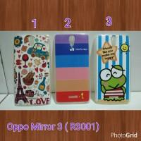 Case Softcase Karakter For Oppo Mirror 3 / SoftCase Oppo Mirror3 R3001