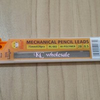 ATK0014 REFILL Isi Pensil 2B 0.5m Mekanik Mechanical Pencil Leads PL00