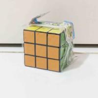 Rubik 3x3 Plastik Termurah Seru Murah Meriah Asah Otak Edukatif