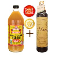 harga Bragg Apple Cider Vinegar 946 ml + Madu Uray 640 ml Tokopedia.com
