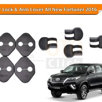 Car Door Lock & Arm Cover Toyota All New Fortuner 2016 Komplit
