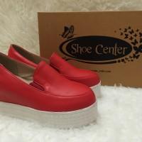 harga sepatu wedges wanita import korea 247 Tokopedia.com
