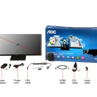AOC Monitor LED Q2963PM 29 Inch IPS DVI,HDMI,Built in Speakers