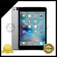 BNIB iPad Mini 4 Wifi Cellular 64GB Space Gray GARANSI APPLE 1 THN