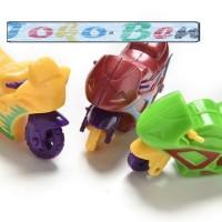 Mainan anak Motor Balap GP kecil Motor dorong Spin & go