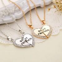 harga Kalung Couple Best Friend, Isi 2. Hadiah Untuk Sahabat Tokopedia.com