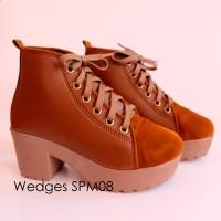 Wedges SPM08 /sepatu wedges wanita /sepatu murah