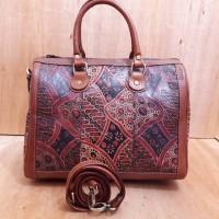 harga Libera_indoo tas speedy medium lukis-batik sekar-kulit sapi nabati Tokopedia.com