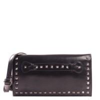 Model tas terbaru - Clutch bag Trendy kasual wanita -Quera hitam