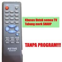 REMOT TV UNIVERSAL UNTUK SEMUA TV TABUNG MERK SHARP
