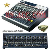 Mixer Soundcraft Fx16ii 16 channel
