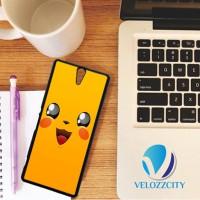 Custom Casing HP Sony Xperia C, C3, C4, C5 Pikachu Face Pokemon Z3798