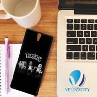 Custom Casing HP Sony Xperia C, C3, C4, C5 Pokemon Black White Z3796 C