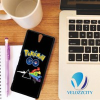 Custom Casing HP Sony Xperia C, C3, C4, C5 Pokemon Go art Z3774 Case,