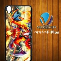 Custom Casing HP Oppo F1 Plus Pokemon Gym Z3788 Case, Hardcase
