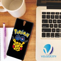 Custom Casing HP Sony Xperia C, C3, C4, C5 Pokemon Go Tribal  Z3779 Ca