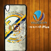 Custom Casing HP Oppo F1 Plus real madrid Los Blancos Z3769 Case, Hard
