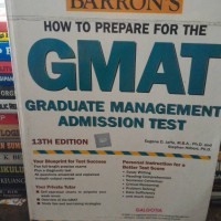 GMAT BY BARRONS