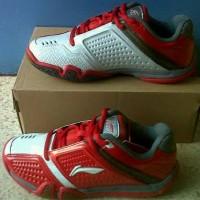 Sepatu Badminton Lining Li Ning hero merah original murah