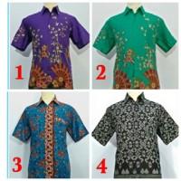 Baju Kemeja Hem Batik Pria Terbaru, Untuk Ke Kantor, Sekolah, Seragam