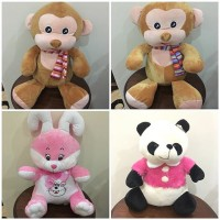 harga boneka monyet monkey rabbit Tokopedia.com