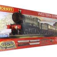 Hornby R1184 Western Express digital train set digital sound
