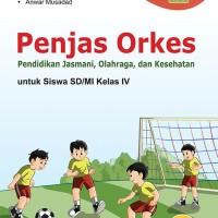Buku Penjasorkes SD/MI Kelas IV Kurikulum 2013