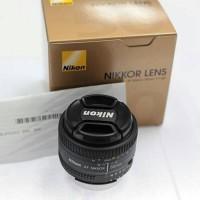 harga NEW Lensa Fix Nikon Nikkor AF D / AFD 50mm f/1.8 D 50 mm f1.8 D Tokopedia.com