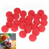Hidung Badut Merah red nose clown party pesta topeng halloween gag