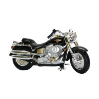 Jual Diecast Maisto 1:24 - Harley Davidson 2000 FLSTF Fat Boy Murah