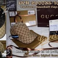TOPI GUCCI BaseBall GCH-200035-1021# PREMIUM Authentic 1:1 Ori Quality