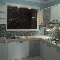 Pesan Kitchen Set Bentuk L di Semarang