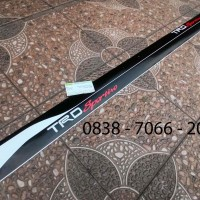 Striping Stiker Sticker Cutting Mobil Trd Sportivo Toyota Fortuner