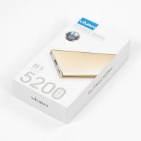 harga ViVAN Powerbank B5 5000 mah Super Slim Polimer Cell - Gold Tokopedia.com